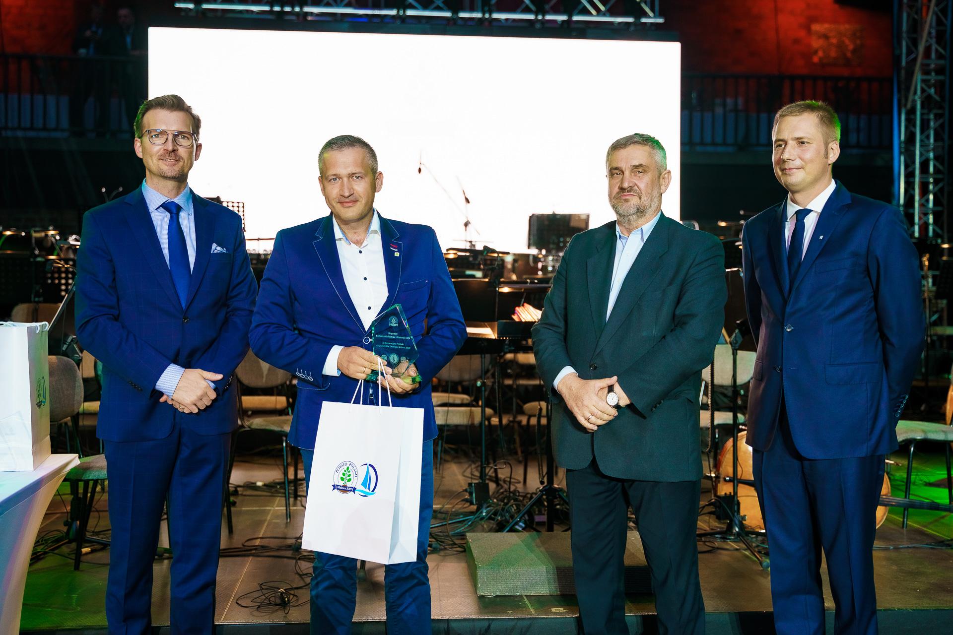 Firma Osadkowski nagrodzona przez Ministra Rolnictwa i Rozwoju Wsi
