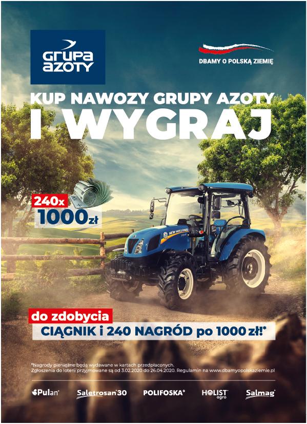 Loteria Grupy Azoty Dbamy o polską ziemię