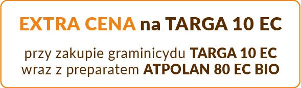 Jesienne promocje RZEPAK extra cena graminicyd TARGA 10 EC_